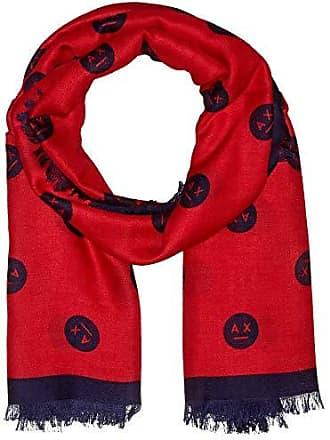 Armani Fashion Scarf, Echarpe Femme, Rouge (Bloody Mary Blue Angel 0415) 7da0352ec92