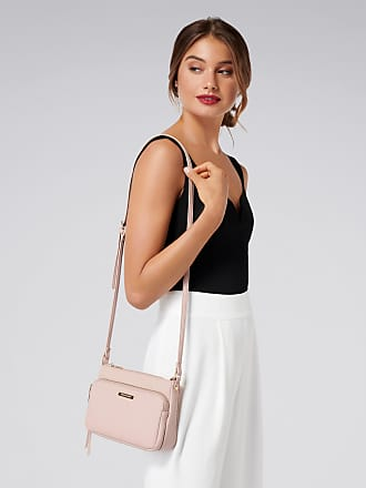 Forever New Polly Zip Front Crossbody Bag - Poetic Pink - 00