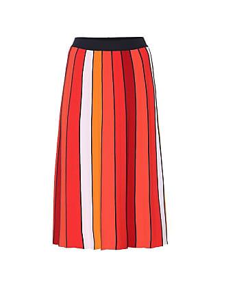 Tory Sport Pleated knit midi skirt