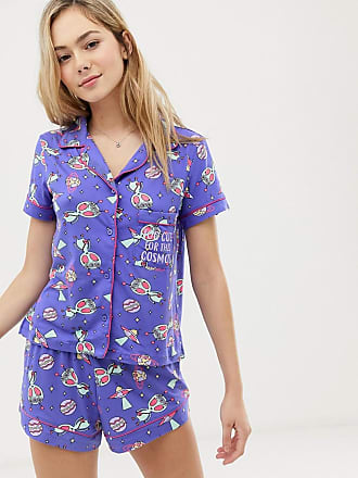 Chelsea Peers Pyjamasset med rymdmönster - Blå 75c5a2c29509f