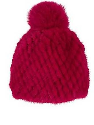 48148ade886 Barneys New York Womens Mink   Fox Fur Beanie - Pink