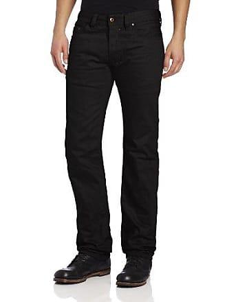 Diesel Mens Safado Regular Slim Straight-Leg Jean 008QU, Black, 32x32