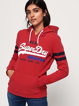 Superdry American Hoodie mit geflocktem Schriftzug Damen