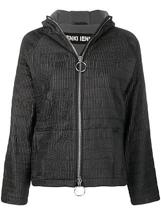 Ienki Ienki zipped hooded track jacket - Preto