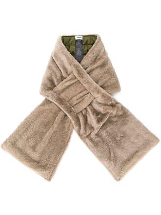 Yves Salomon - Army Merino and nylon scarf - Neutrals