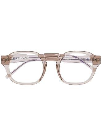 Kuboraum Armação de óculos oversized - Neutro