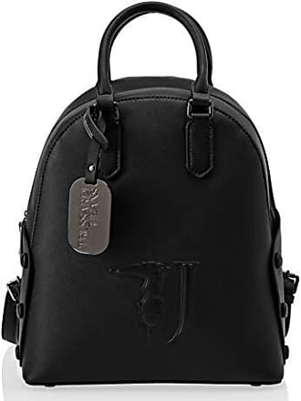 28bcffcb3f Trussardi Melissa Backpack Covered Studs, Zaino Donna, Nero (Black On Tone),