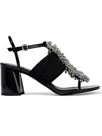 4662e561b9f 3.1 Phillip Lim 3.1 Phillip Lim Woman Bead-embellished Ribbed-knit And  Patent-