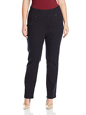 9e2bc932be072 Jag Jeans Womens Plus Size Peri Straight Pull on Jean