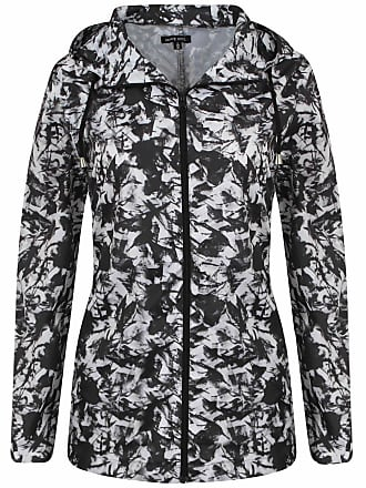 c338fcf26b78 Brave Soul Ladies Rain Mac Parka Womens Fishtail Festival Jacket Patterned  Coat Sizes 8 10 12