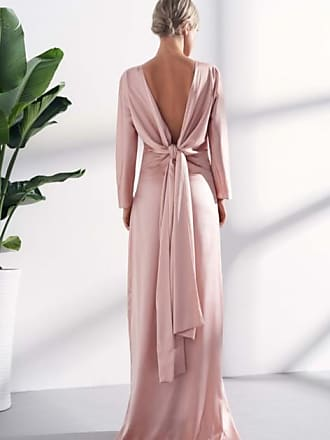 Viktoria Chan Lova classic gown back knot