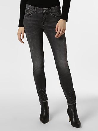 MAC Damen Jeans - Slim Bohemian grau