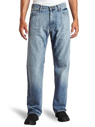 Nautica Jeans Mens Relaxed Light Hatch Jean, Hokline Blue, 34Wx32L