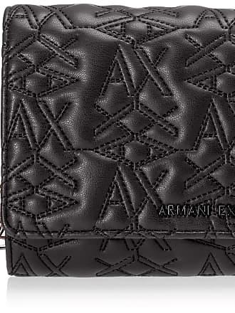 A X Armani Exchange Womens Wallet With Chain, Black (Black), 10x10x10 cm (W x H x L)