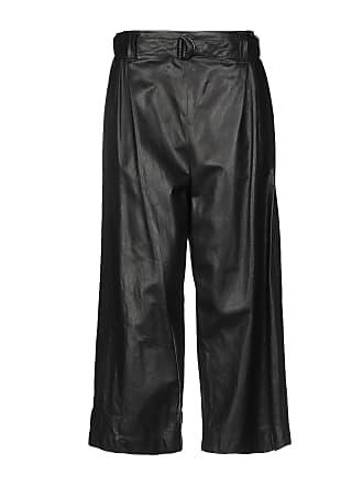 Pantalons En Cuir pour Femmes en Noir   jusqu  à −69%  78299b04aff