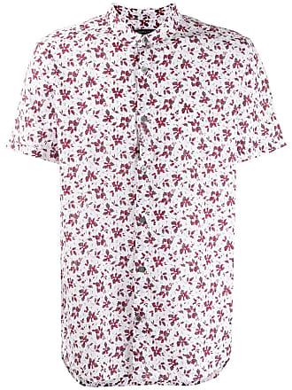 John Varvatos floral print shirt - White