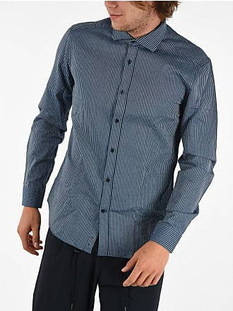 Corneliani CC COLLECTION Striped Slim Fit Shirt size 41