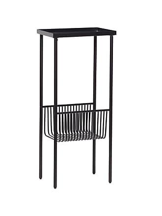 Hübsch Konsolbord svart metall mindre, hubsch