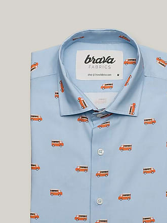 Brava Fabrics Foodtruck Printed Long Sleeve Shirt