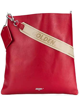 Golden Goose Bolsa tiracolo de couro - Vermelho