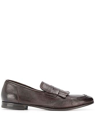Henderson Baracco dark brown loafers - Marrom