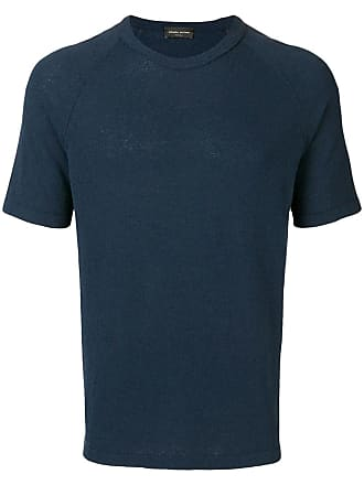Roberto Collina short sleeve sweater - Blue