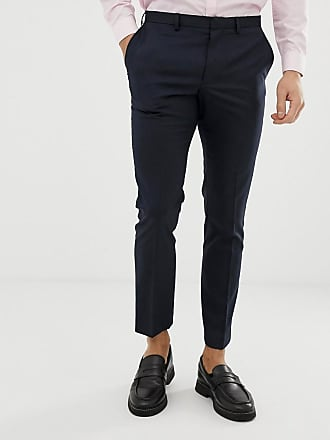 Burton Menswear skinny fit suit trouser in navy