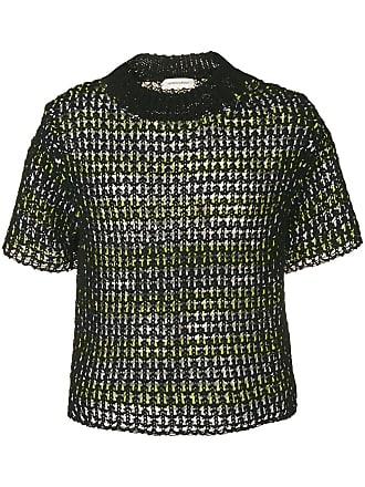 Namacheko Blusa de tricô Zirek - Preto