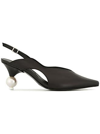 Yuul Yie sphere heel slingback pumps - Black