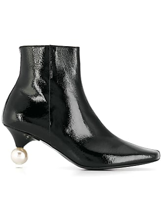 Yuul Yie pearl embellished ankle boots - Black