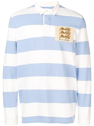 Kent & Curwen Camisa polo listrada - Branco