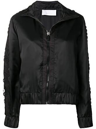 No Ka'Oi sequin embroidered track jacket - Black