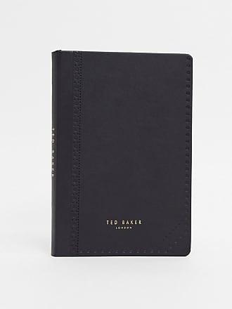 Ted Baker Quaderno A5 con dettagli brogue-Nero