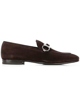 Salvatore Ferragamo Double Gancio loafers - Brown