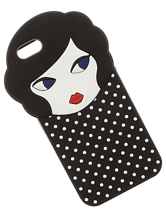 Lulu Guinness iPhone 6 - 6S On Sale, Iphone 6 Case, Black, Rubber, 2017, One size