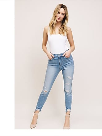 Dynamite Kate Distressed Ankle Jeans Chloe