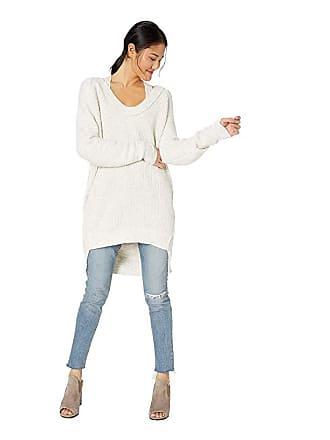 Free People Sunday Sccop Neck (Ivory) Womens Sweater