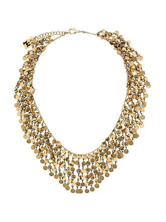 Rosantica Fred chain and sequin necklace - Gold