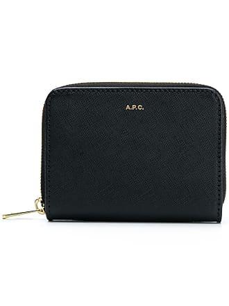 A.P.C. compact Emmanuelle wallet - Black