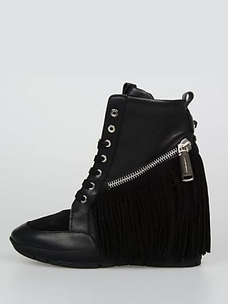 size Dsquared2 With Sneakers High MANITOU 40 Wedge Leather YxrZYqS
