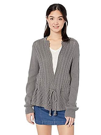 O'Neill Womens Donnie Cardigan Sweater, Gunmetal S