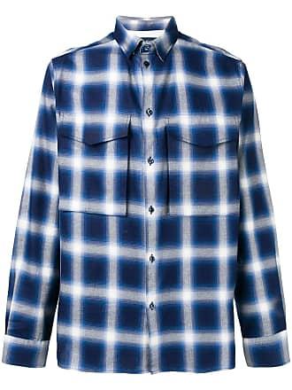 Natural Selection Camisa xadrez Lambeth - Azul