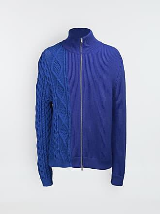 Maison Margiela Maison Margiela Cardigan Bright Blue Wool, Polypropylene, Polyamide