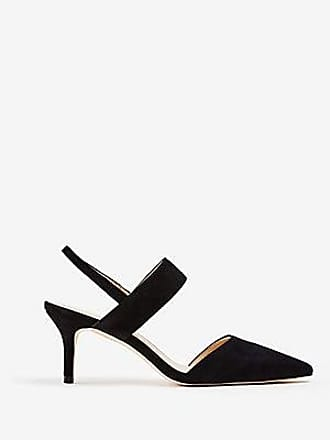 ANN TAYLOR Theodora Suede Slingback Pumps