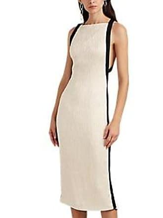 21363a8e78de Jason Wu Womens Satin Cloqué Cocktail Dress - Cream Size 8
