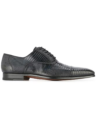 Magnanni textured lace-up shoes - Black