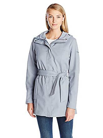Columbia Womens Take To The Streets Trench, Tradewinds Grey, X-Large