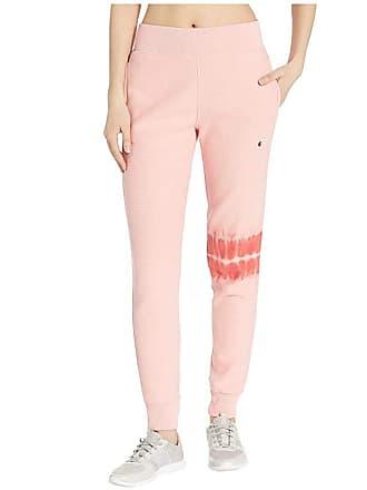 7478afbc Champion LIFE Streak Dye Jogger (Primer Pink) Womens Casual Pants