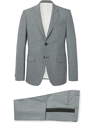 Givenchy Blue Slim-fit Puppytooth Wool Suit - Blue e9bb3d6b3f126