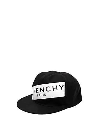9de03fc0cc96d2 Givenchy Logo Print Cap - Mens - Black White